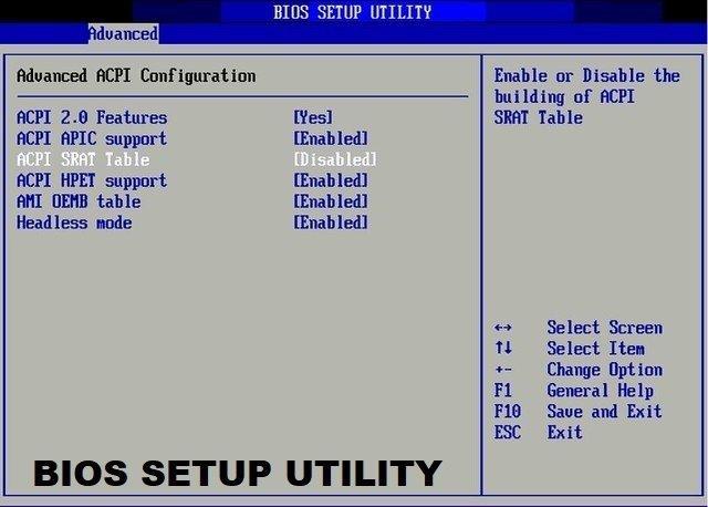 BIOS - BASIC INPUT OUTPUT SYSTEM