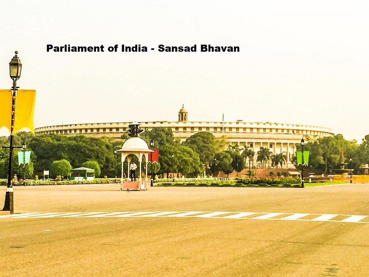 Sansad Bhavan - Parliament of India